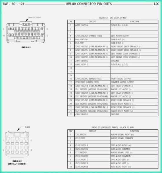 Free Chrysler Radio Wiring Diagram