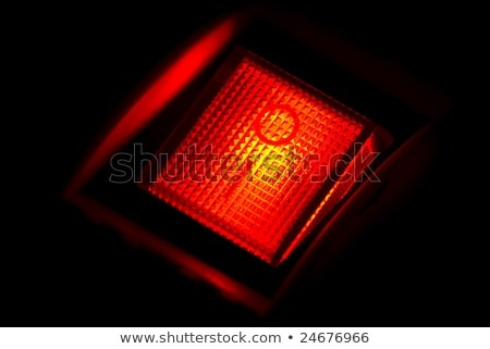 Red Light Switch Stock Photo (edit Now) 24676966
