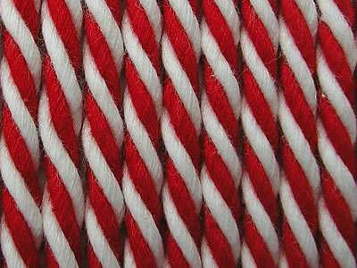 Red Striped Cord
