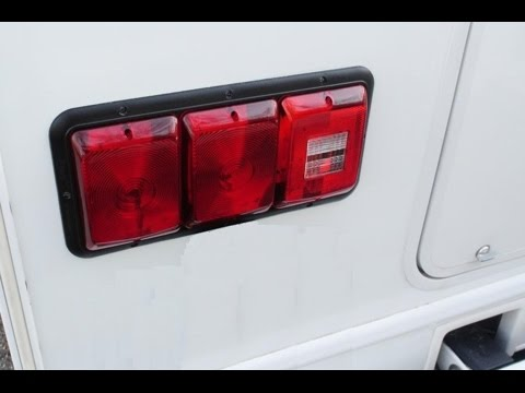 Replacing The Leaking Tail Lights On My Motorhome