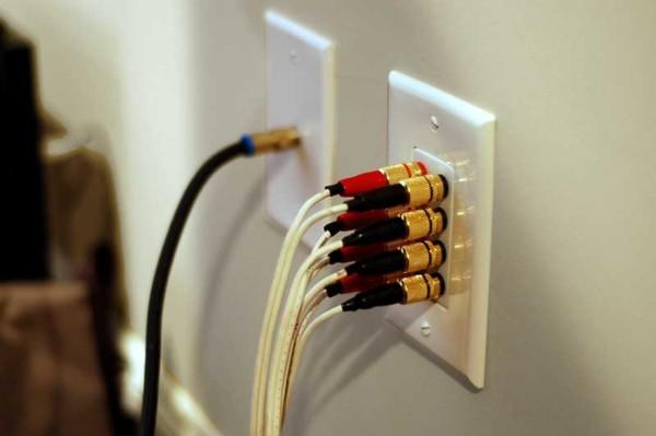 Running Wires For Surround Sound Speakers