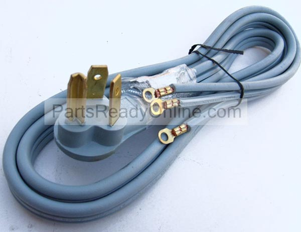 6 Foot Dryer Cord 3