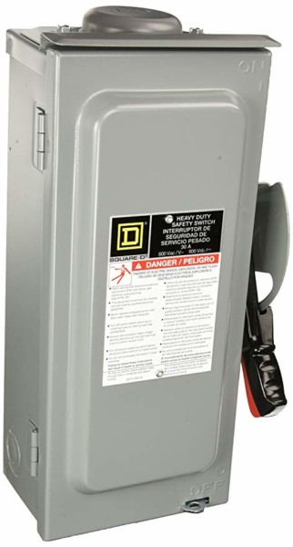 Schneider Electric Switch Not Fusible Hd 600