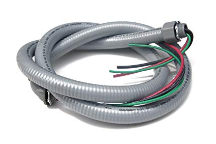 Sealproof Power Whip Assembly, 3 4