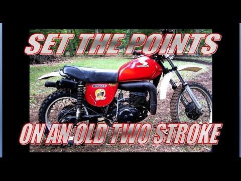 Set The Ignition Points 1976 Honda Mr 250