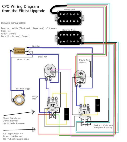 Epiphone Nighthawk Wiring Diagram