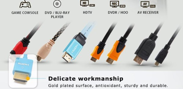 Sipu High Quality Flat M F 3+4 Parallel To Vga Cable Db15 Male To