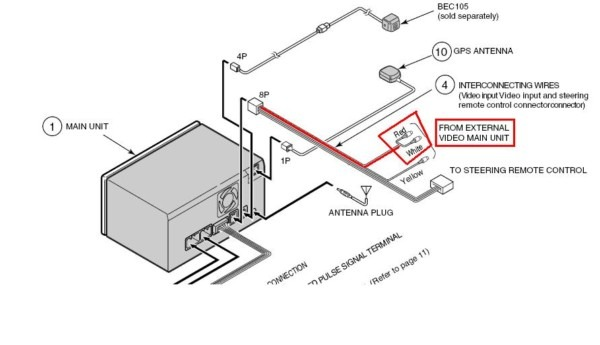 Alpine Iva W200 Wiring Diagram