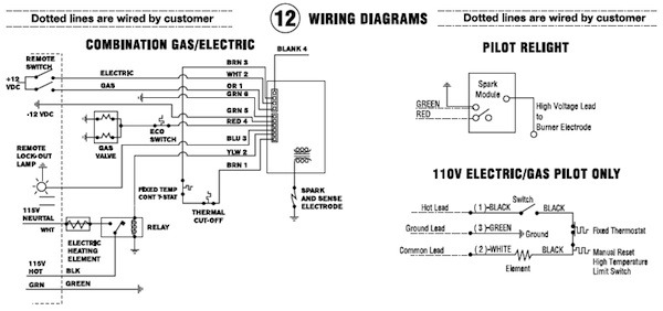 Suburban Rv Water Heater Wiring Diagram