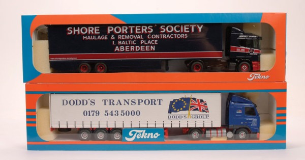 Tekno Scania Articulated Truck And Trailer  Shore Porters Society