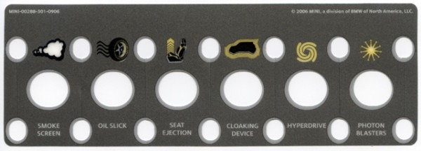 Toggle Switch Decals