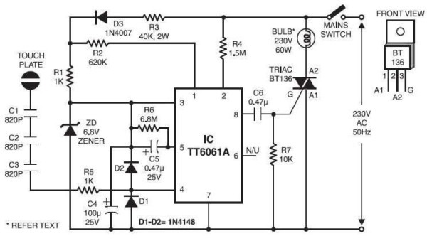 Dimmer Switch Circuit Diagram