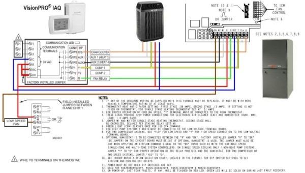 carrier heat pump wiringThermostat Wiring Diagrams Also Carrier Heat Pump Thermostat Wiring #19