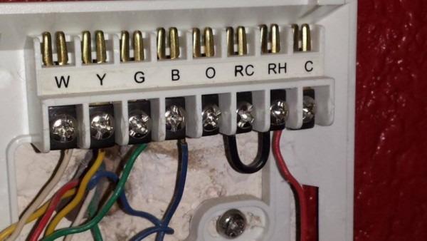 Trane Thermostat Wiring Schematic