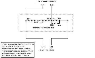 Transformer Wiring Need Help Now