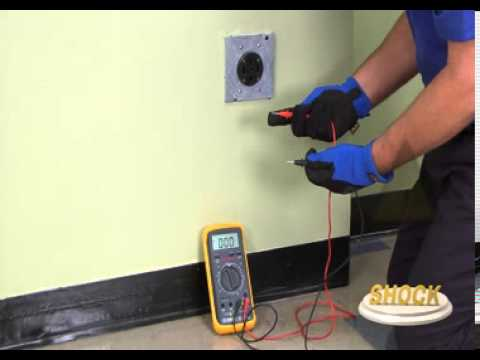 Video  Perform A Voltage Check On A 240 Volt Outlet