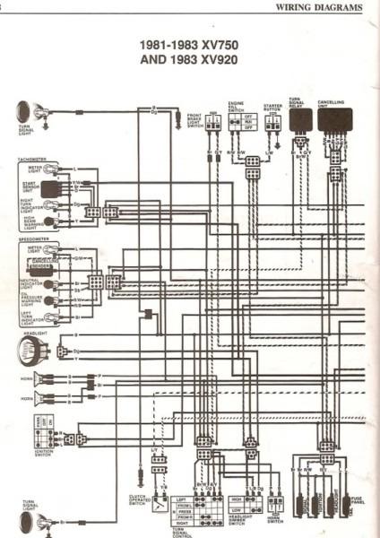 1981 Yamaha Virago 750 Wiring Diagram from www.chanish.org
