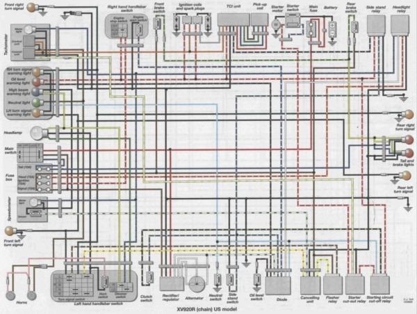 virago 920 wiring diagram 1983 yamaha virago 500 wiring diagram everyday wiring diagram  1983 yamaha virago 500 wiring diagram