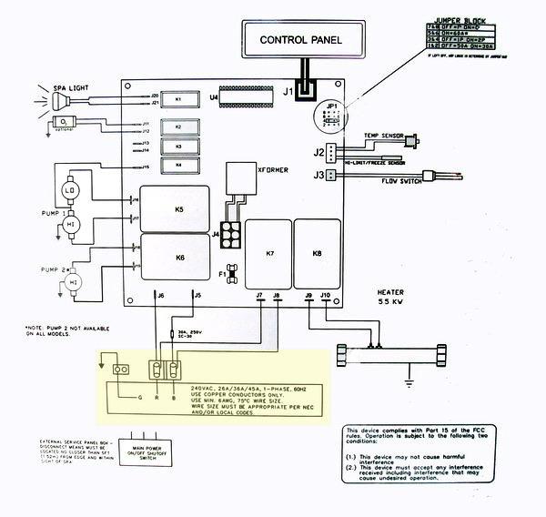 wiring diagram for spa schema diagram preview Bullfrog Spa Wiring Diagram