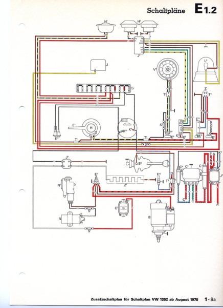 1972 vw beetle voltage regulator wiring diagram 12 Volt Starter Wiring Diagram