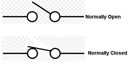 What Is The Difference Between Normally Open And Normally Closed