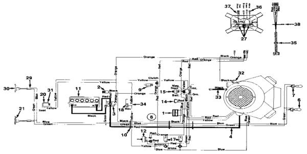 Wire Diagram Huskee Mtd