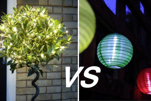 Wired Vs Wireless Garden Lights