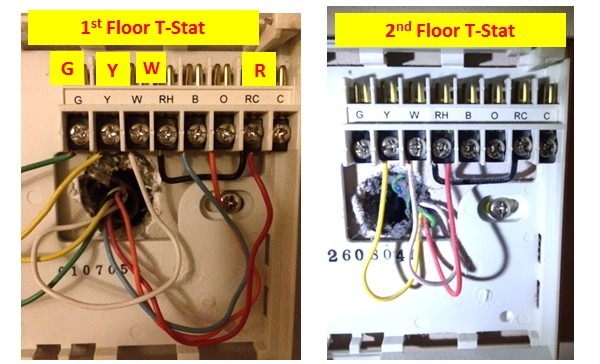 Wiring A New Programmable Thermostat (floor, Furnace, Ac, Heating