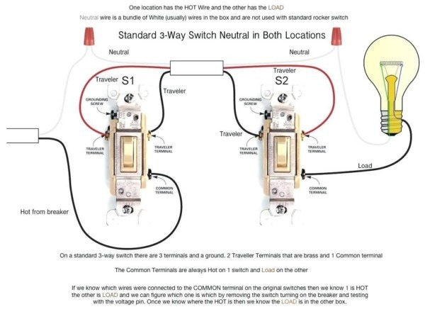 Light Switch Diagram 1 Way