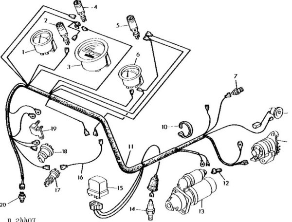 John Deere 2040 Wiring Diagram