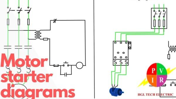 Wiring Diagram Motor Starter