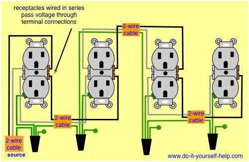 Wiring Diagram Receptacles In Series