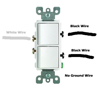 Wiring Help For Leviton 5634 Double Switch