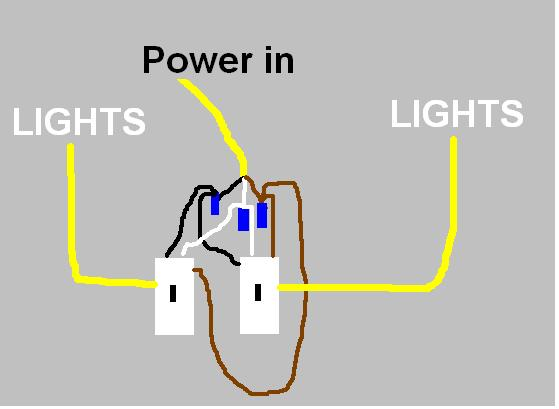 Wiring Two Light Switches On The Same Circuit