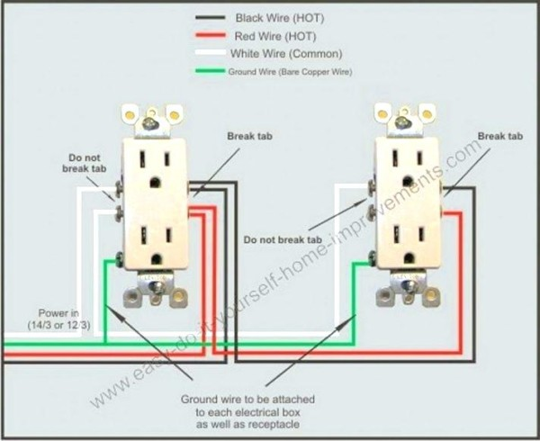 Wiring Two Outlets In One Box – Unitedglobalcargo Info