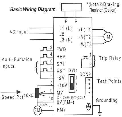 Wiring Vfd Drives