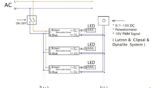 0 10v Led Dimmer Circuit Diagram