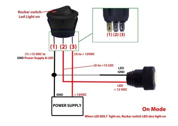12 Volt Light Switch 3 Pole Wiring Diagram