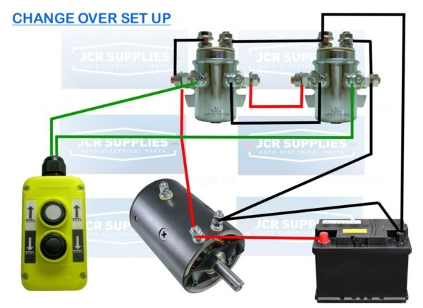 Warn Solenoid Wiring Diagram