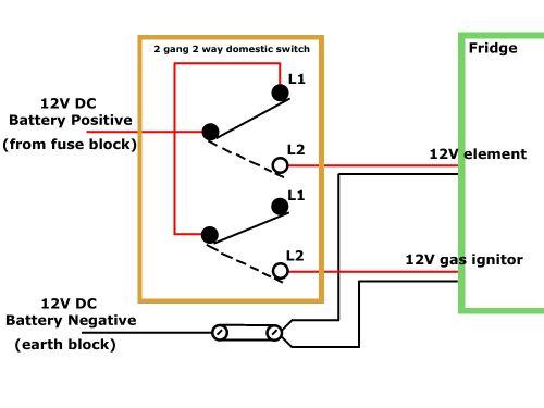12v Wiring 2 Way