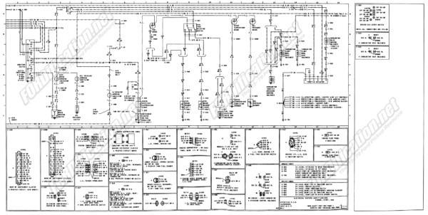 1974 Ford F100 Wiring Diagram
