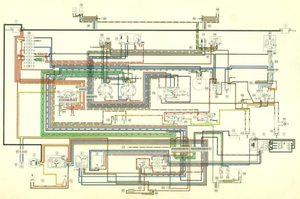 1980 Porsche 911 Wiring Diagram