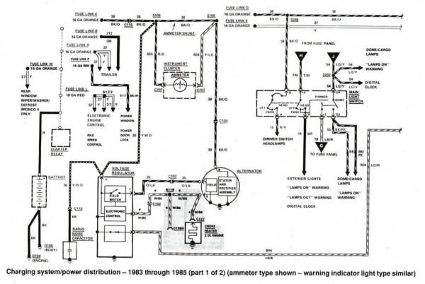 1977 Ford F150 Alternator Wiring Diagram