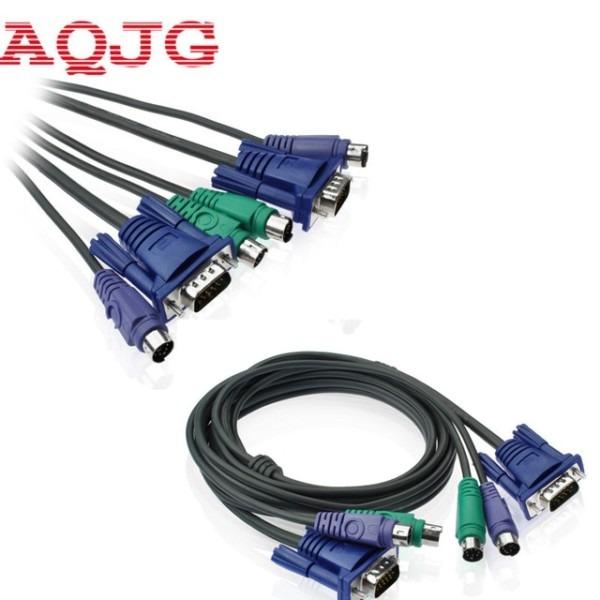 1 5m 5ft Usb Vga Svga Kvm 15 Pin Standard Switch Printer Ps2 Cable