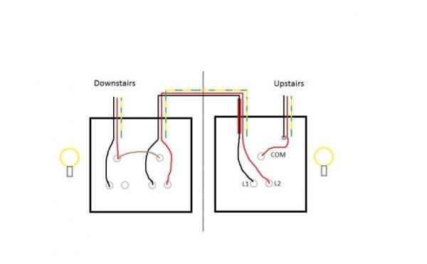 1 Way Wiring Diagram