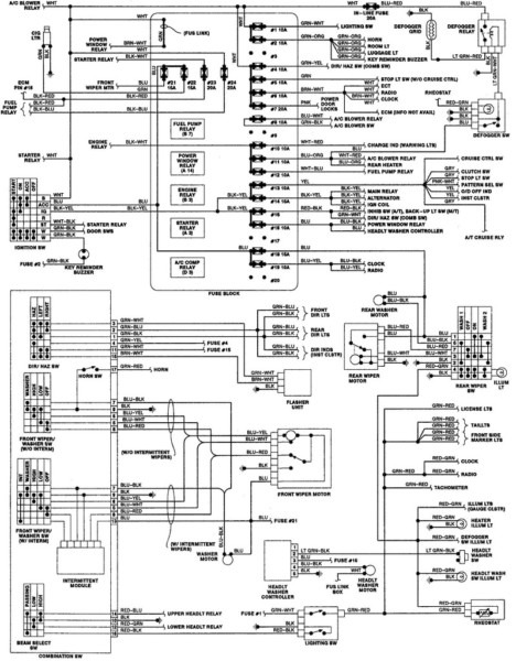 2000 Isuzu Rodeo Fuel Pump Wiring Diagram from www.chanish.org