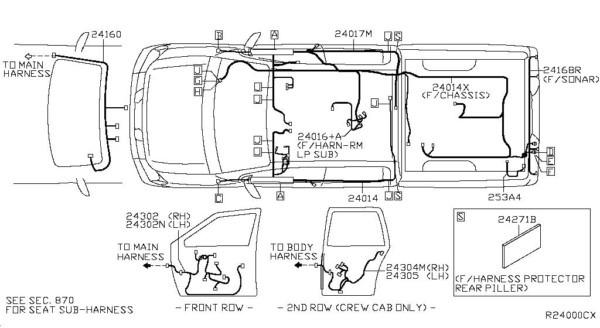 2008 Nissan Armada Wiring Diagram