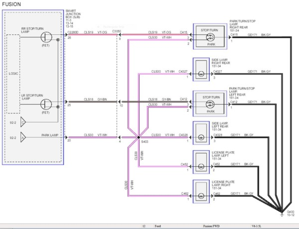 Wiring Diagram 2010 Ford Fusion Sport Wiring Diagrams Sound Sense A Sound Sense A Massimocariello It