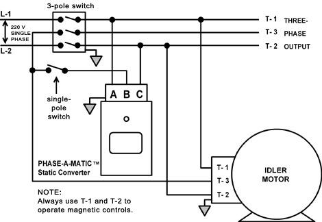 220v Three Phase Wiring Diagram