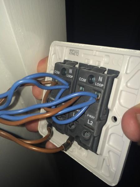 2 Gang Switch Wiring